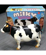 MILKY THE MARVELOUS MILKING COW Game Holstein Dairy Cow Parts VINTAGE BOX - $49.99