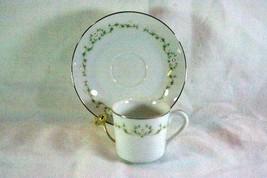 Sheffield Elegance Demitasse Cup And Saucer Set #502 - $7.19