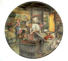Royal Doulton Old Country Crafts The Potter Susan Neale Plate NOT PERFECT - $18.75