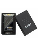Rare Retired Chevrolet Repeating Chevrons Zippo Lighter - $56.95