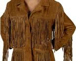 Lw 9926 brown fringe jacket front newsy eu thumb155 crop