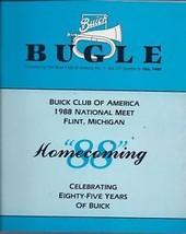 The BUICK Bugle October 1988 Brochure Vol.23 -#6 - $2.25
