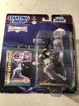 Hasbro 1998 Starting Lineup NOMAR GARCIAPARRA 1999 Baseball Extended Series - $4.90
