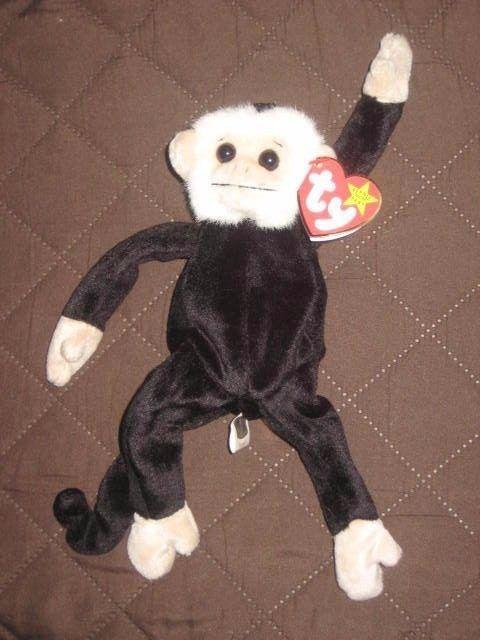 b8615ed4259 TY Beanie Baby Mooch The Monkey w  Tags. and 50 similar items. S l1600