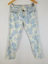 Current/Elliott women 26 The Stiletto skinny jeans blue rose - $41.66