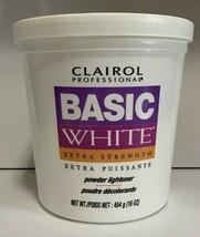 CLAIROL Professional Basic White Extra Strength Powder Lightener 1lb / 454g - $25.95