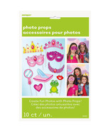 Birthday Princess 10 ct Photo Props Decor Happy Birthday Party - $4.74