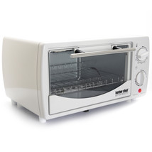 Better Chef 9 Liter Toaster Oven Broiler-White - $48.39