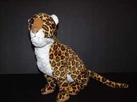"Disney World Disneyland Animal Kingdom Spotted Cheetah Leopard Plush 15"" - $19.59"