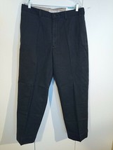 PERRY ELLIS COTTONS WINTER TWILL MEN'S FLAT FRONT STRAIGHT LEG PANTS-36x... - $15.40