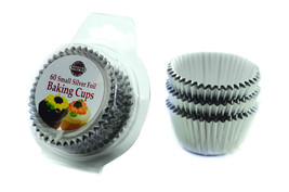 NORPRO 3593 Silver 60 Small Cupcakes Muffins Bonbons or Candy Cups - €3,97 EUR