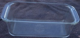 Gently Used Pyrex DD-15 Loaf Pan - 8.5 X 4.5 X 2.5 - Good Cond - Chip Handle - $16.82