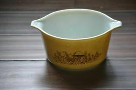Vintage Pyrex Casserole Dish Bowl Forest Mushroom 473 - B - $9.99