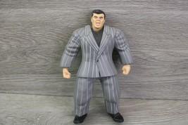WWE WWF Vince McMahon Jakks Pacific 1998 Wrestlemania With Suit - $19.75