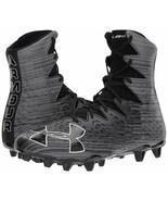Under Armour Mens UA Highlight MC Black 1297358-001 Football Cleats Sz 1... - $44.99