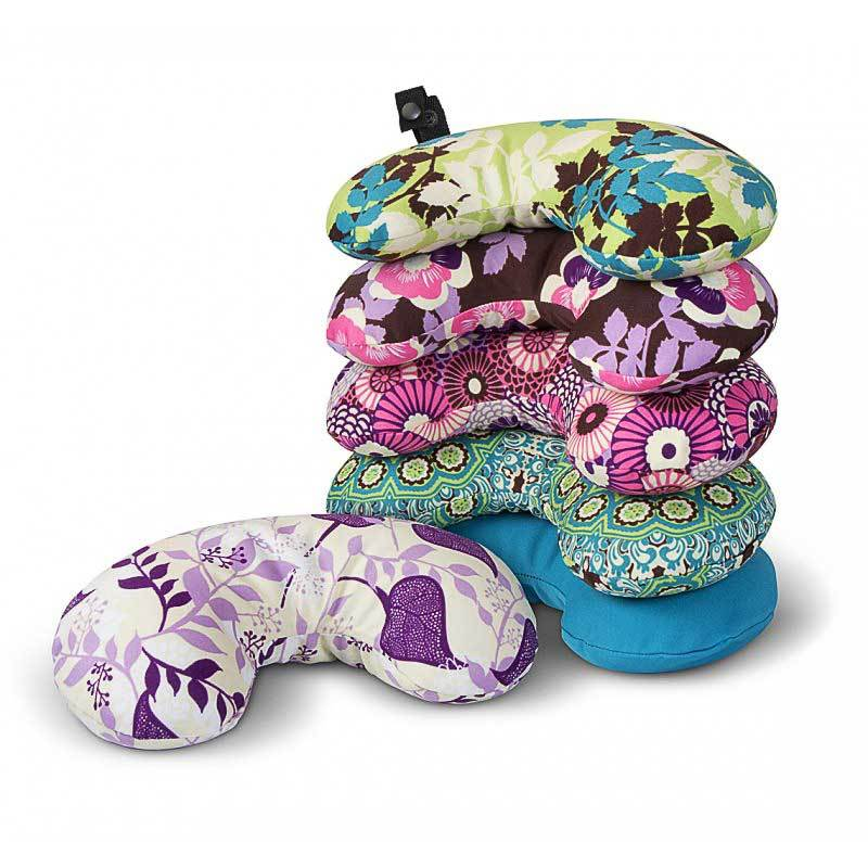 Bucky Minnie Compact Neck Pillow with Snap & Go w/ Stylish Removable Cover