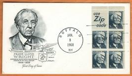 "US 1968 Very Fine FDC The Postal Commemorative Society "" Frank Lloyd Wri... - $1.10"