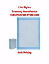 """17x24"""" 300-600-1200 Lifestyles Incontinence Pads Lightweight Disposable ... - $28.50+"""