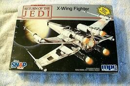 X-Wing Fighter Star Wars Return of the Jedi ROTJ Model Kit 1990 MPC NEW ... - $14.85