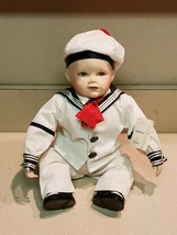 Ashton Drake Knowles Porcelain Doll, Matthew by Yolanda Bello w/ Tag #76... - $19.75