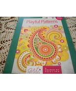 Playful Patterns Happy Rhapsody Coloring Book  - $10.00