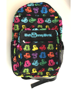 Walt Disney World Multi Color Mickey Mouse Backpack NEW - $29.90