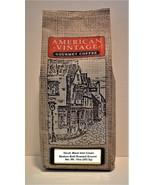American Vintage Coffee Decaf. Black Irish Cream Dessert Coffee Dark Bol... - $10.99