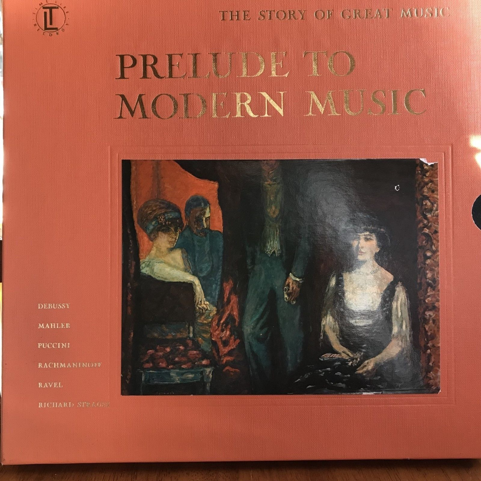 Primary image for Prelude Modern Music Time Life Story Great 4 Record Set book listening guide 147