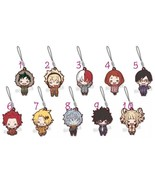 Anime My Hero Academia Boku no Hero Akademia Rubber Strap Keychain Key Ring - $5.82 - $6.91