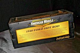 1940 Ford Coupe Stock Rod - 1:18 Scale with Box AA20-NC8153 Vintage Collecti image 5