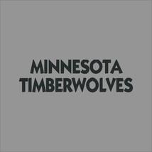 Minnesota Timberwolves #3 NBA Team Logo Vinyl Decal Sticker Car Window Wall - $6.28+