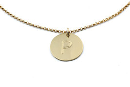 Gold necklace,engraved necklace,moms gift,birthday necklace - $49.00+