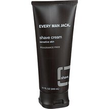 Every Man Jack: Fragrance Free Shaving Cream, 6.7 Ounces image 6