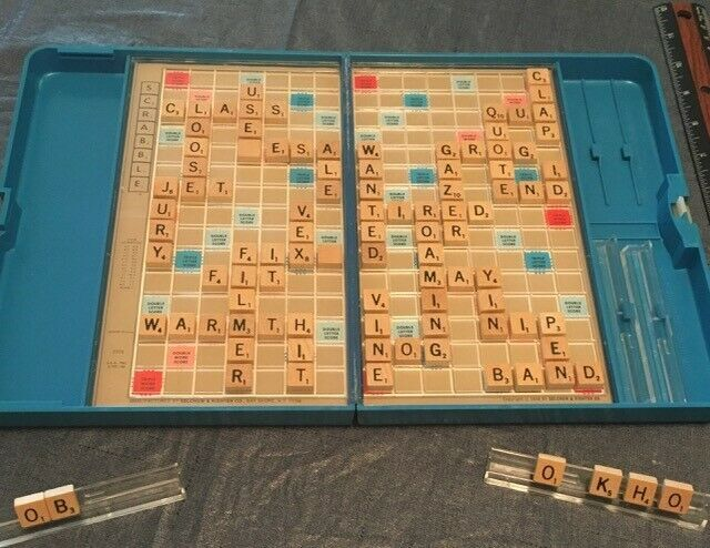 Board Game NEW Sealed 1981 Vintage Scrabble Upper Hand Grand Slam Word