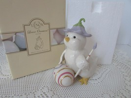 LENOX CHINA  OCCASIONS EASTER PRETTY LITTLE PAINTER FIGURINE NIB W/STICKERS - $24.70