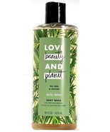 1 Love Beauty and Planet Tea Tree and Vetiver Daily Detox Body Wash Rene... - $23.99