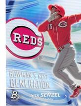 2017 Bowman Platinum Next Genration #BNG-NS Nick Senzel NM-MT Reds - $3.99
