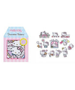 HELLO KITTY Cute 12 Design Paper Card Letter Banner Decoration Sticker D... - $11.99