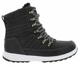NEW Weatherproof Womens Black Water Repellent Alexa Winter Sneaker Ankle Boots image 2