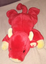 """Ty SNORT THE RED BULL Beanie Buddy 15"""" from 1998 - $19.96"""