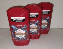 3x Old Spice Krakengard Anti-Perspirant & Deodorant 2.6oz Ea Exp:07/22 New - $19.99