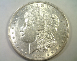 1881 MORGAN SILVER DOLLAR CHOICE ABOUT UNCIRCULATED CH. AU NICE ORIGINAL... - $52.00