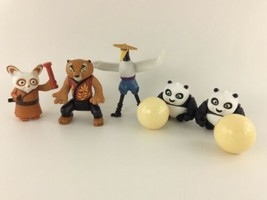 Kung Fu Panda Happy Meal Toy Lot Of 5 McDonald's Toys - $14.99