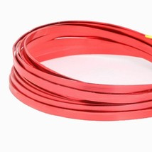Painted Red Aluminium Soft Metal Beading Wire For DIY Jewelry Making Acc... - $9.47