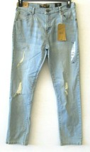 Ring Of Fire NWT Big Boys Blue Jeans Size 20 Slim Fit Distress Skylar KD767 - $37.39