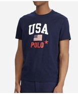 Polo Ralph Lauren Mens US American Flag T-shirt Tee top USA 2XLT NWT - $24.07
