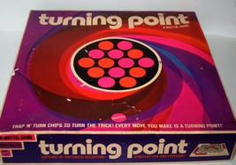 TURNING POINT Board Game from Matte,l 1969 Board Game, Family Fun, Vintage - $24.19