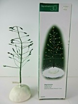 """Department 56 Village Twinkling Tips Tree 52781 Tested 11"""" Battery Operated - $9.49"""
