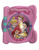 Mattel My First Princess Electronic Book Flip Pages Disney ABCS Alphabet... - $17.32