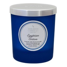 Shearer Candles Egyptian Cotton Scented Candle Jar, 30hr - £15.36 GBP